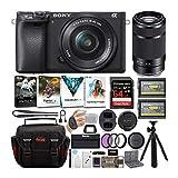 Sony a6400 Mirrorless Digital Camera Bundle :...