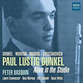 Alive In The Studio - Music for Flute, Piano and Percussion