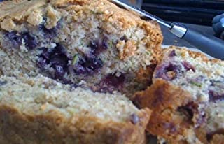 Homemade Blueberry Zucchini Bread(Buy One Get One) party gift, gourmet bread, gift idea, gift for Mom