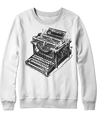 Sweatshirt Remington Typewriter H112233 Bianco XXL