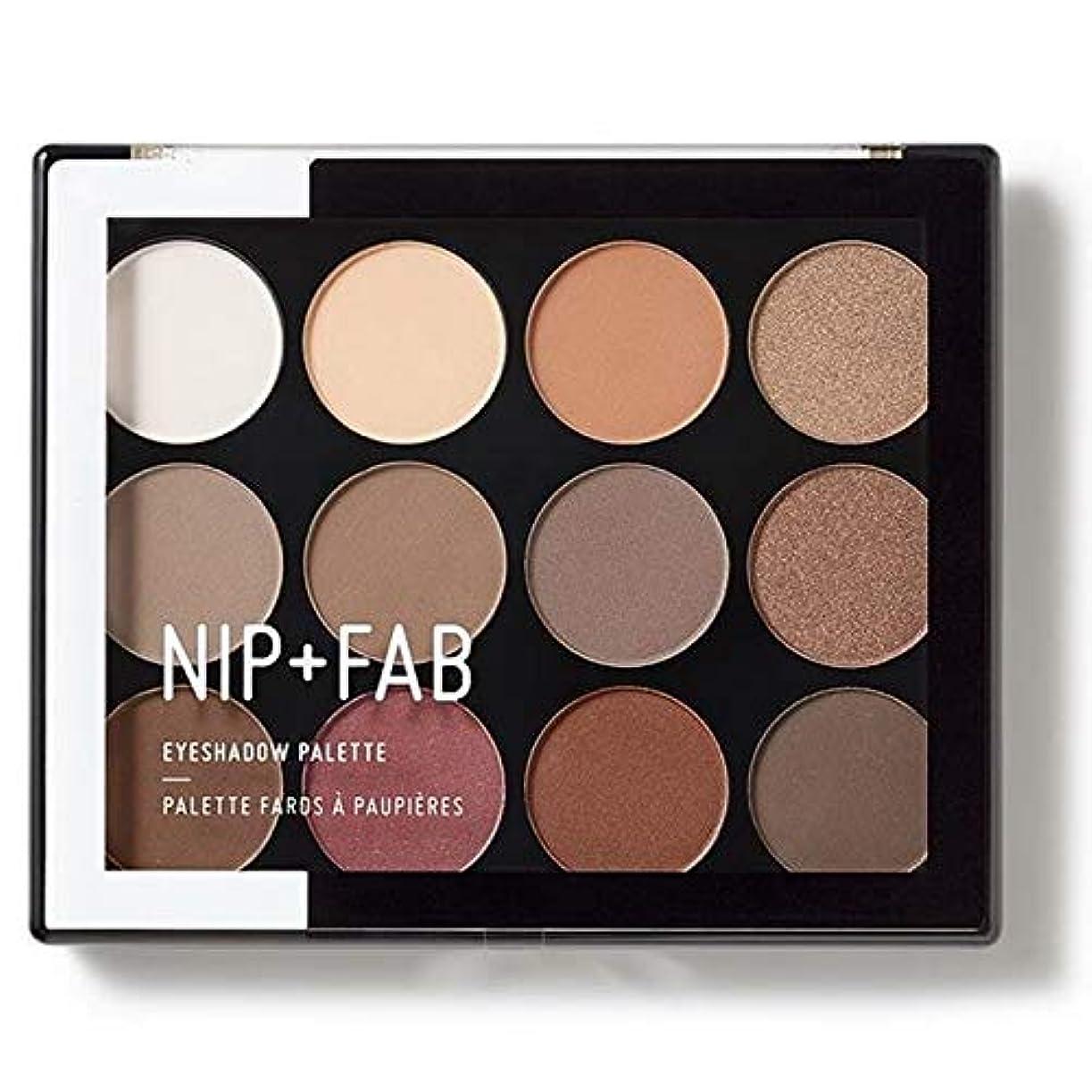眠る現在更新する[Nip & Fab ] アイシャドウパレット12グラムが1を彫刻作るFab +ニップ - NIP+FAB Make Up Eyeshadow Palette 12g Sculpted 1 [並行輸入品]