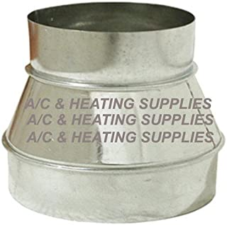 Single Wall Galvanized Metal Duct Reducer 8