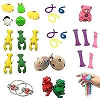おもちゃ 24/50pcs感覚フィジットのおもちゃセットストレスリリーフの手のおもちゃ大人の子供Adhd不安自閉症束感覚玩具誕生日プレゼント (Color : 32pcs)