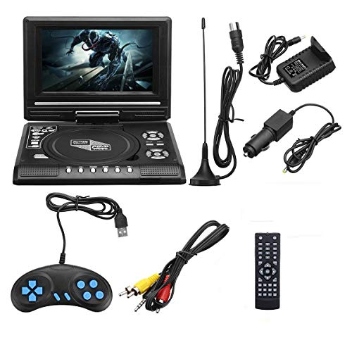 Best Buy! DVD Player 7.8 Inch Portable HD TV Home Car DVD Player VCD CD MP3 DVD Player USB SD Cards ...
