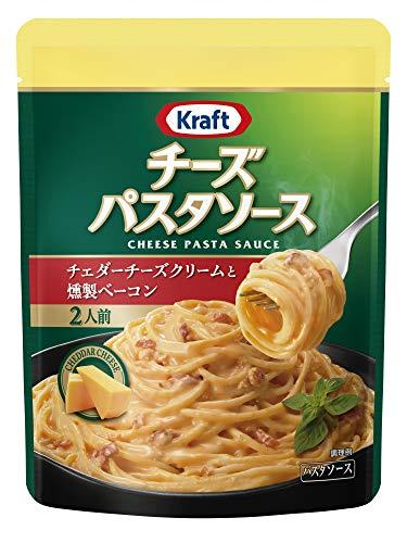 クラフト チーズパスタソース クラフト (Kraft) チェダーチーズクリームと燻製ベーコン×3袋 チェダー&ベーコン 3 袋