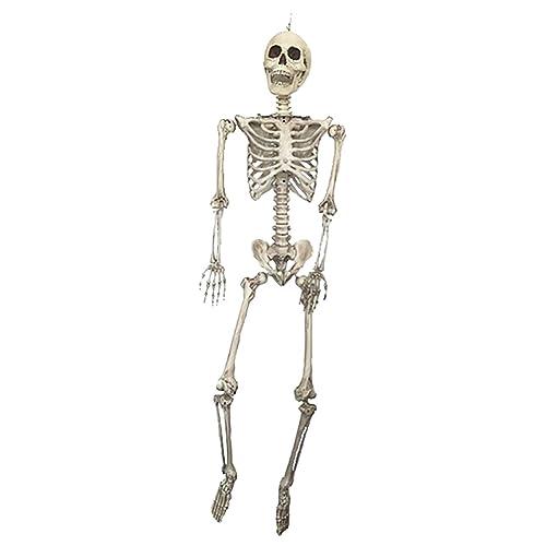 "36/"" Halloween Gothic Horror Party Crazy Bones Poseable Human Skeleton Decoration"