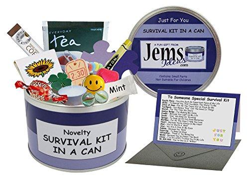 Alguien Especial Kit de Supervivencia en una Lata. Humor Novedad diversión Recuerdos de TI/Amigo/Novio/Novia/Hermano/Hermana/Abuela/Abuelo/tía/Uncle/m.