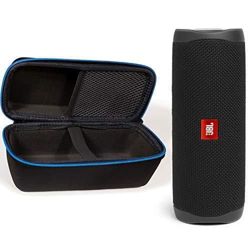 JBL Flip 5 Waterproof Portable Wireless Bluetooth Speaker Bundle with divvi! Protective...