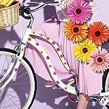 Wandtattoo Loft Fahrradaufkleber 35 STK. Gerbara Blüten Blumen Fahrrad Sticker Fahrraddesign Kinderfahrrad