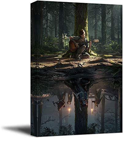 The Last of Us Part 2 - Póster enmarcado para pared de ofic