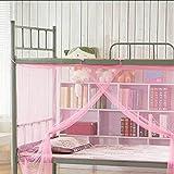 Womeet Mosquito Net Dormitorio para Estudiantes Mosquitera estudiantil Cama...