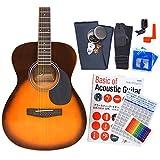 アコースティック・ギター アコギ 初心者 12点セット Legend FG-15 スタートセット アコギ 入門 VS [98765]