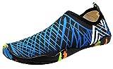 AIEOE-Femme Homme Chaussons Sport Kayak Compétition Chaussette de Gymnastique Aquatique Décathlon Sable Chaussures Semelles Epais Confortable Résistant Séchage Rapidement Eté Cadeau Taille 36-37