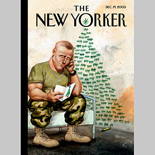 The New Yorker (Dec. 19, 2005) audiobook cover art