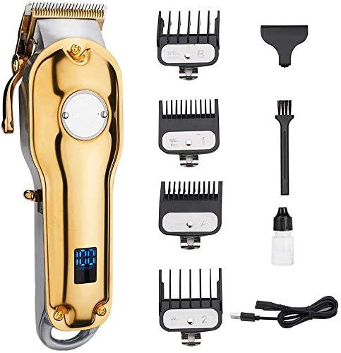 YYSDH Im Jahr 2020 Electric Hair On Hair Removal Maschine schnurlosen Funk für den Heimgebrauch und Salon Doré Silber Rasenmäher,Gold