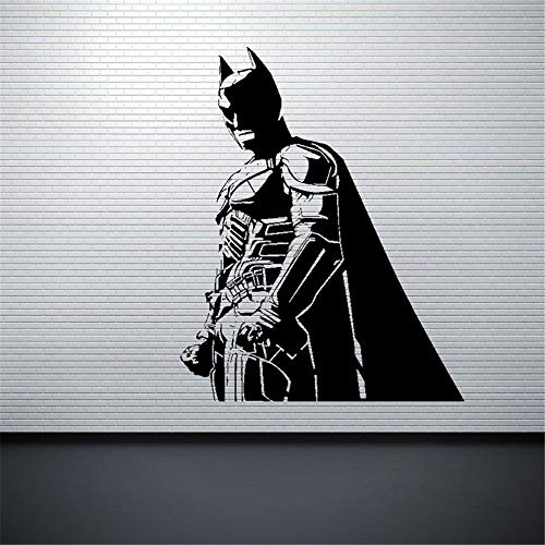 Adhesivo de pared Batman Batman Dark Knight Superhero Dc Comic Sticker Picture Decorate Décor