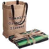 Makuzo Mexican Blankets - Yoga Blanket - Camping Blanket - Native American Blanket - Navajo Blanket - Beach Blanket - Outdoor Blanket - Beach Essentials