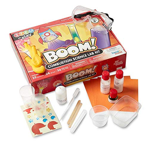 hand2mind BOOM! Combustion Chemistry Lab Kit For Kids Ages...