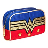 DC Comics Wonder Woman Glitter Logo Make-Up Bag
