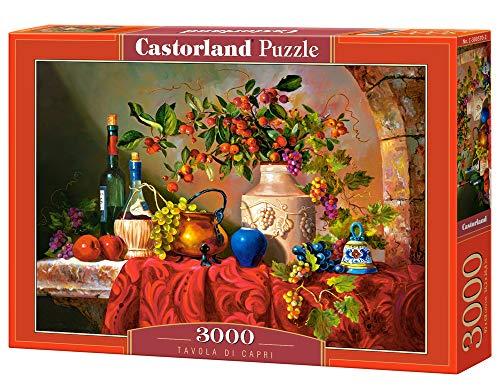 Castorland Puzzle 3000 PZ TAVOLA di Capri - C-300570-2