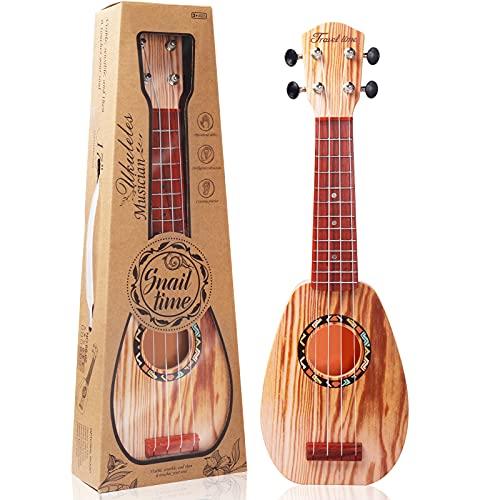 17 Inch Kids Ukulele Guitar Toy 4...