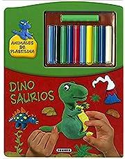 Dinosaurios (Animales de plastilina)