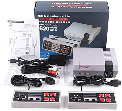 Classic Retro Game Console Mini Video Game Consoles with 620 Games - AV Output