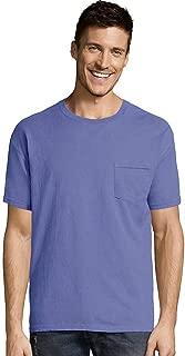 Hanes Men's ComfortWash Garment Dyed Short Sleeve Pocket Tee