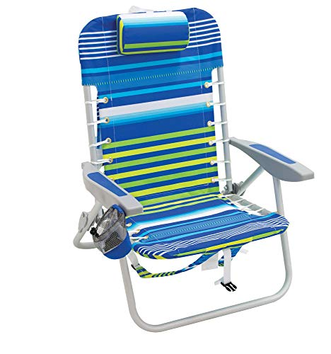 Rio Brands Lace Up Aluminum Backpack Chair