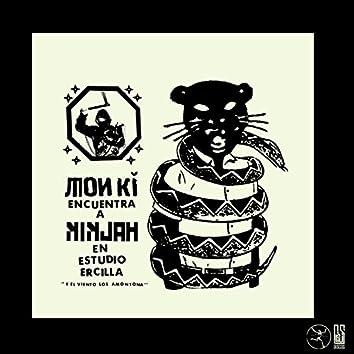 Monki Encuentra a Ninjah en Estudio Ercilla....Y el Viento los Amontona - Single