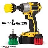 Accessori da Cucina - Drill Brush - Grout Cleaner - 2 Pollici Kit Diametro Multiuso Spin Brush - Statue da Giardino - Granito Cleaner - Accessori Bagno - Tenda della Doccia - vaschetta per Il Bagno