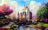 Puzzle 1000 Piezas, Puzzles Para Adultos Puzzles Castillo De Fantasía (157) 1000 Piece Jigsaw Puzzles Infantiles Puzzle Adultos (75X50Cm)