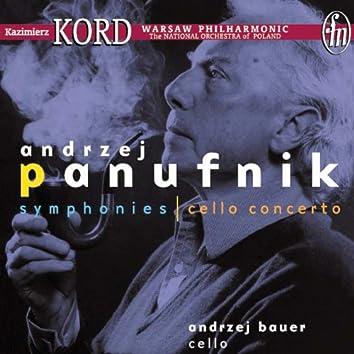 """Panufnik, A.: Sinfonia sacra, """"Symphony No. 3"""" / Symphony No. 10 / Cello Concerto"""