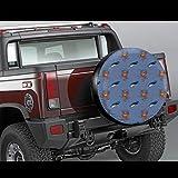 LYMT Bird Nest Forest Handbemalte Autoreifenschutz Reifenhülle Reifenabdeckung Passend für Anhänger, Wohnmobile, SUV und viele Fahrzeuge 14-17inch