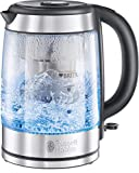 Russell Hobbs Clarity - Hervidor de Agua Eléctrico con Filtro Brita (2200 W,...