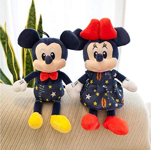 baiyinlongshop Stuffed Mouse Doll Plush Toy Soft Star Mickey Minnie Dolls Cushion Pillow Birthday Wedding Gifts For Kids Children 35Cm