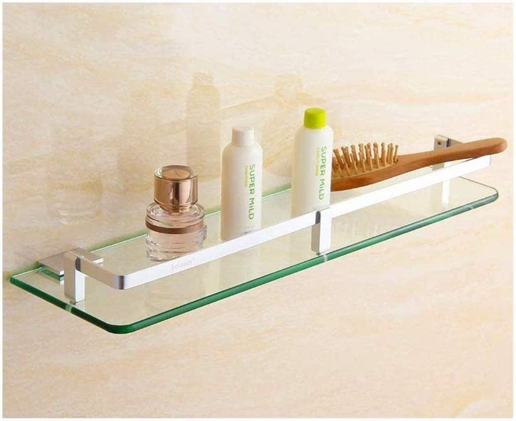 Clearance SALE! Limited time! BJLWT Bathroom Glass Shelf Cosmet Wall Shower Raleigh Mall Caddy