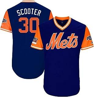 C/ómodo Camisetas B/éisbol Baseball Jersey Major League New York Mets 24# Cano Bordado Deportes Jugadores Ropa para Hombres Youth