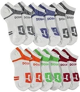 6-Pack Men's Sport No Show Socks Size 10-13