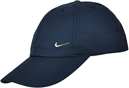 separation shoes a7826 3464f Nike Baseball   Snapback Hat For Kids, One Size Obsidian Metallic Silver