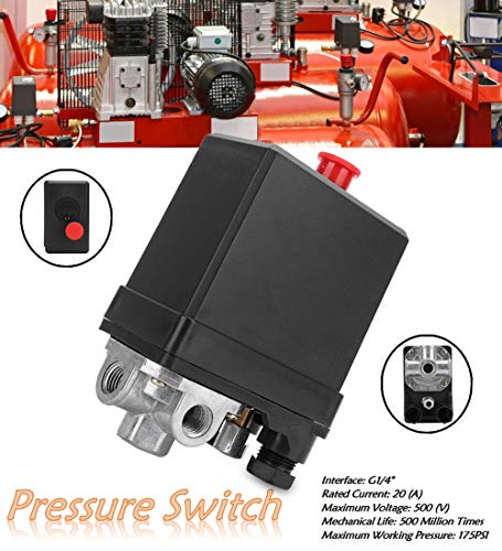380V 3phasiger 4Loch Luftkompressorregler,G1/4