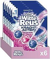 Witte Reus Toiletblok Kracht Actief Bloesem, 6 Stuks