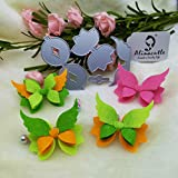 DIE Cut Butterfly Bow Angel Cutting Dies,Letmefun Metal Cutting Dies Scrapbook Paper Craft Album Card Punch Knife Art Cutter Die