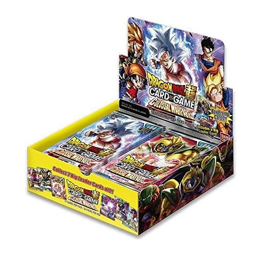 Dragon Ball Super Card games-série4-colossal Warfare–Juego de 24Boosters, 605514, Amarillo