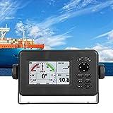 HAOX Navigatore Nautico GPS, Ricetrasmettitore Navigatore GPS Nautico con Schermo Multi-Display LCD da 4,3 Pollici, Supporto del Sistema di Navigazione Marittima 10.000 Waypoint