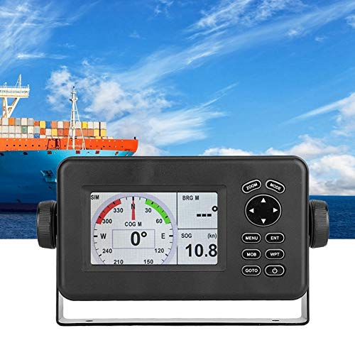 For Sale! Marine GPS Navigator, 4.3 Inch Color LCD Multi-Display Screen Transceiver SBAS Combo Navig...