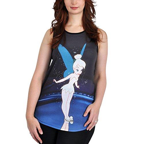 Campanilla Disney sin mangas para mujer let 's Dance azul Multicolor multicolor XX-Large