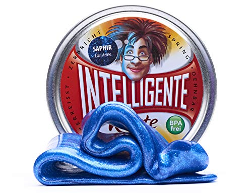 Intelligente Knete Edelsteine (Saphir) BPA- und glutenfrei