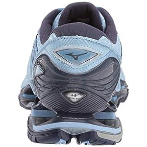Mizuno Women's Wave Prophecy 8 Running Shoe, Angel Falls-Graphite, 7 B US