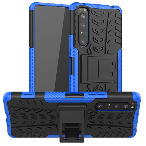 LiuShan Compatible with Xperia 1 II Case,Shockproof Heavy Duty Combo